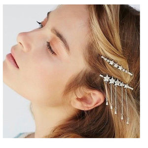 ✅ Free people dangling star hair clip boho